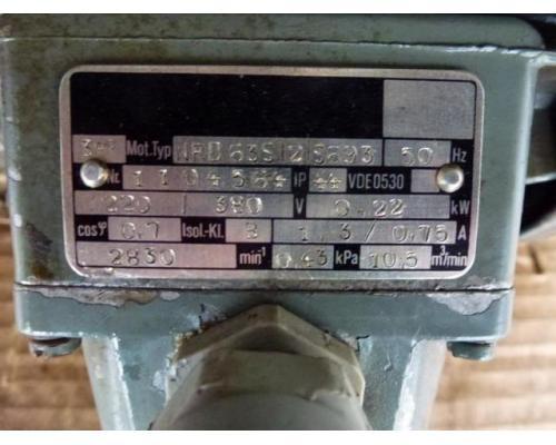 Elektromotor Evic MSZ 152 220/380 V 4,0 kW 14401/min Welle 24 mm - Bild 7