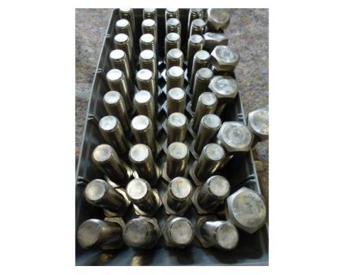 48 x Sechskantschrauben M24 x 75 Vollgewinde aus Edelstahl A2-70 - Bild 2
