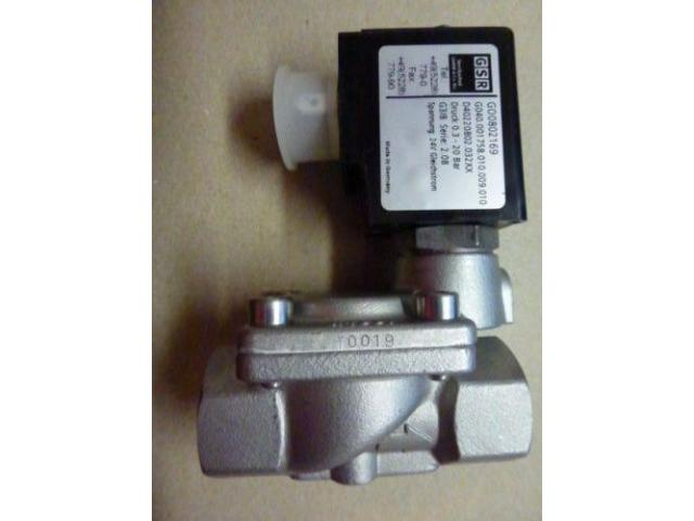 "Magnetventil Servo. GSR D4022/0802/.0322 3/8"", 24 V Edelstahl neu - 3"