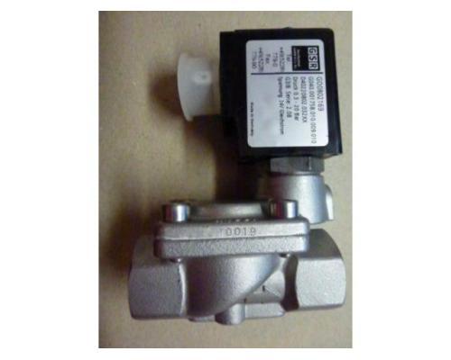 "Magnetventil Servo. GSR D4022/0802/.0322 3/8"", 24 V Edelstahl neu - Bild 3"
