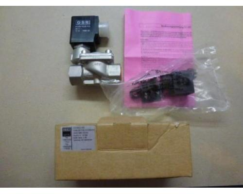 "Magnetventil Servo. GSR D4022/0802/.0322 3/8"", 24 V Edelstahl neu - Bild 6"