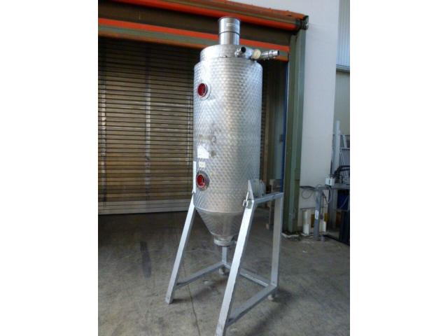 Trocknungstrichter Digicolor für Granulat ca. 200 l z.Trockenluft - 1