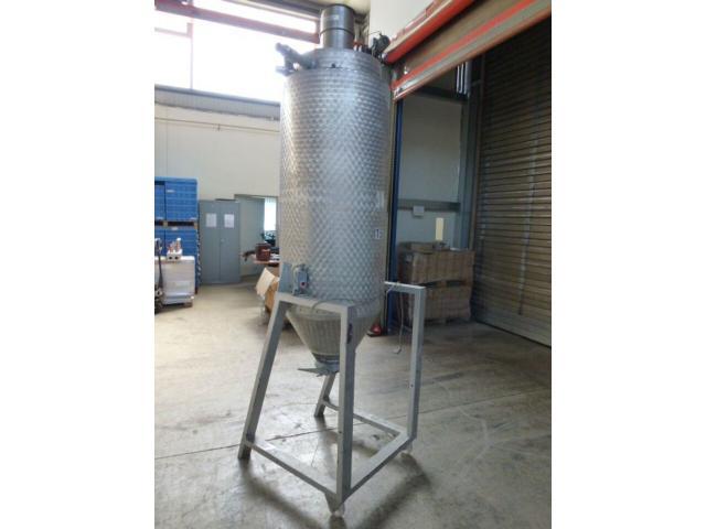 Trocknungstrichter Digicolor für Granulat ca. 200 l z.Trockenluft - 2