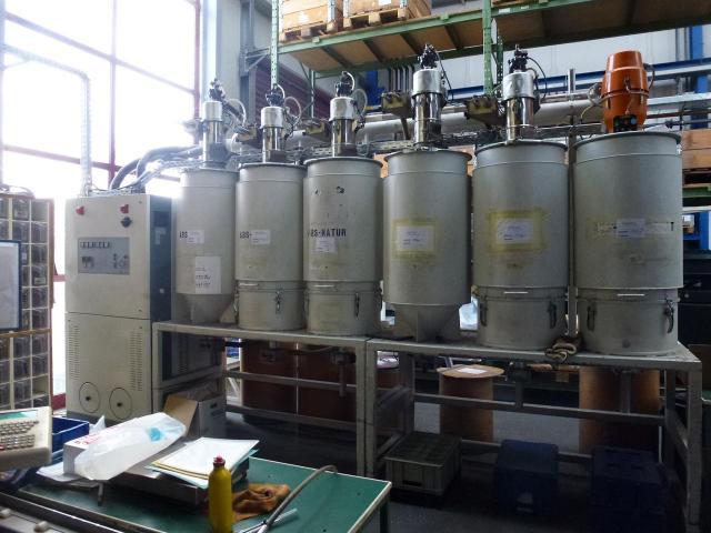 Trocknungstrichter Digicolor für Granulat ca. 200 l z.Trockenluft - 11