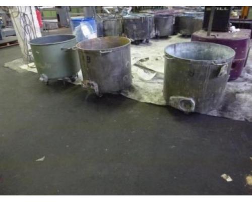 10 Farbmischkübel Mischkessel Rührwerksbehälter Drais 300l rollb. - Bild 2