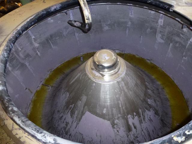 10 Farbmischkübel Mischkessel Rührwerksbehälter Drais 300l rollb. - 13