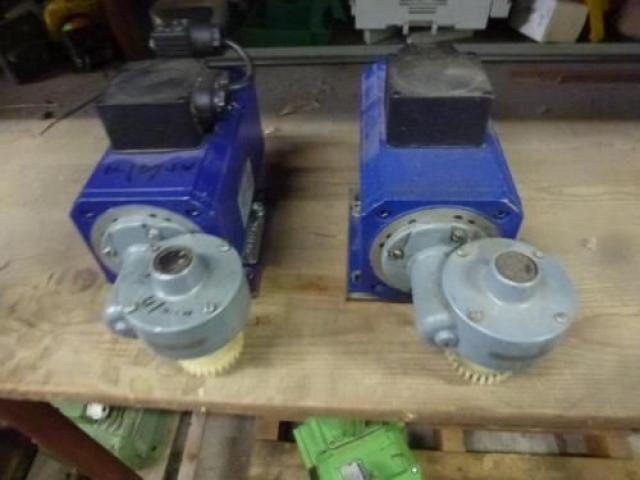 Getriebemotor GROSCHOPP 105 W WK1777504 mit Bremse - 3