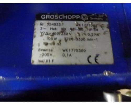 Getriebemotor GROSCHOPP 105 W WK1777504 mit Bremse - Bild 4