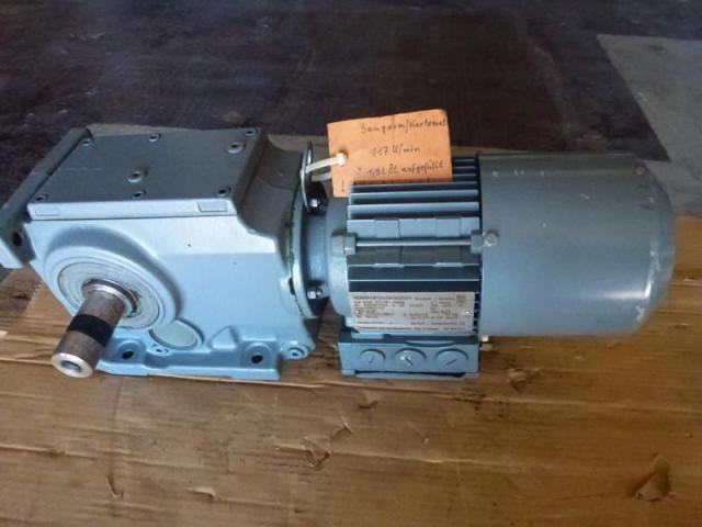 Getriebemotor GROSCHOPP 105 W WK1777504 mit Bremse - 7