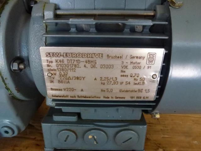Getriebemotor GROSCHOPP 105 W WK1777504 mit Bremse - 8