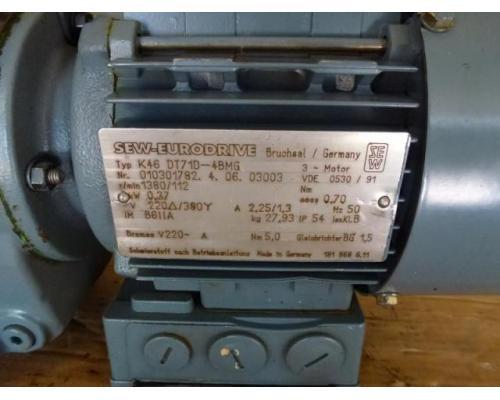 Getriebemotor GROSCHOPP 105 W WK1777504 mit Bremse - Bild 8