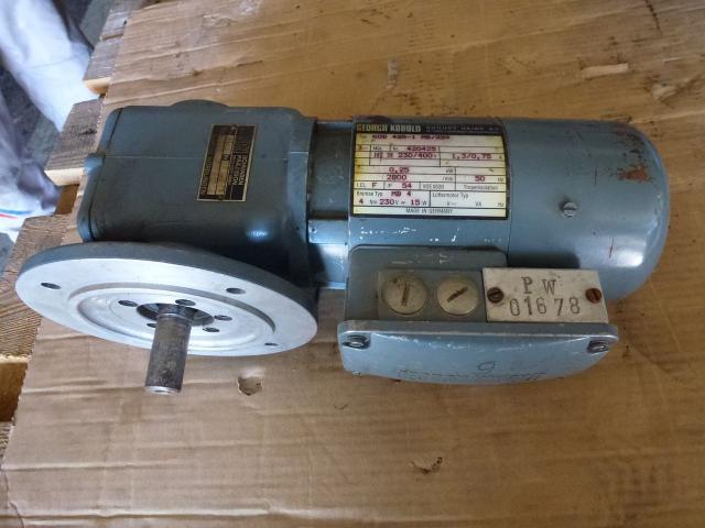Getriebemotor GROSCHOPP 105 W WK1777504 mit Bremse - 11