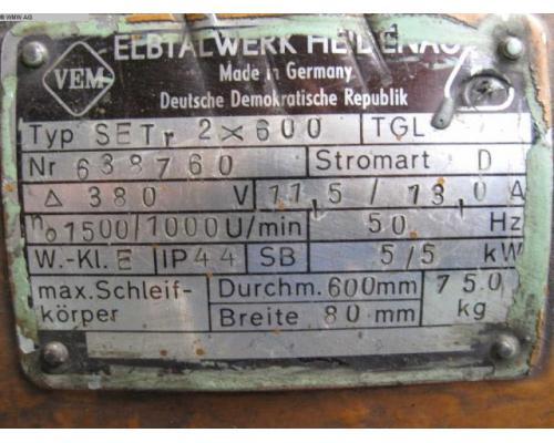 VEB ELBTHALWERK Doppelschleifbock SET r 2x600 - Bild 4