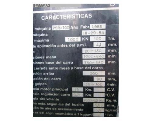 TACI ARRASATE Doppelständerexzenterpresse PSR 100 - Bild 5