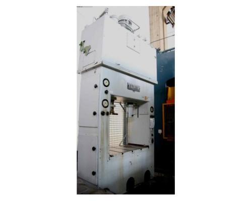 LAUFFER & BUTSCHER hydraulische Doppelständer (zieh) presse RA 80/30 - Bild 1