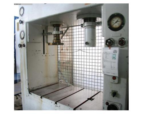 LAUFFER & BUTSCHER hydraulische Doppelständer (zieh) presse RA 80/30 - Bild 2