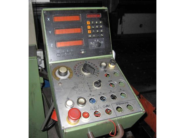 MAHO WERKZEUGMASCHINENBAU PFRO Fräsmaschine - Universal MH 600 - 2