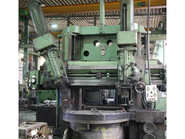 NILES Karusselldrehmaschine - Doppelständer DKZ 2000 x 1250 B - 1