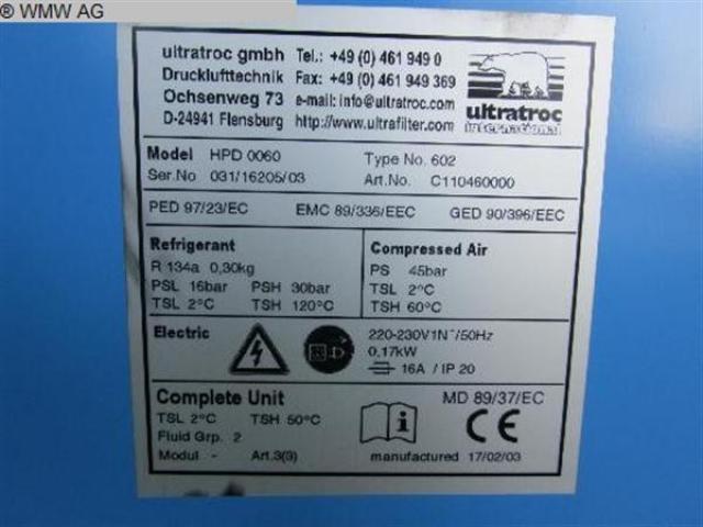 ULTRATROCK Kältetrockner HPD 0060 Typ602 - 5
