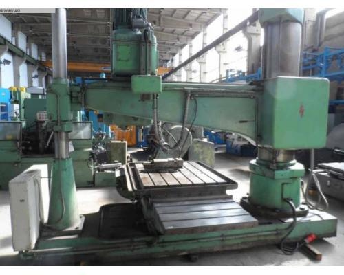 WEBO Radialbohrmaschine BR 50/63-H 2000 - Bild 3