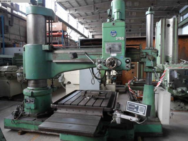 WEBO Radialbohrmaschine BR 50/63-H 2000 - 4