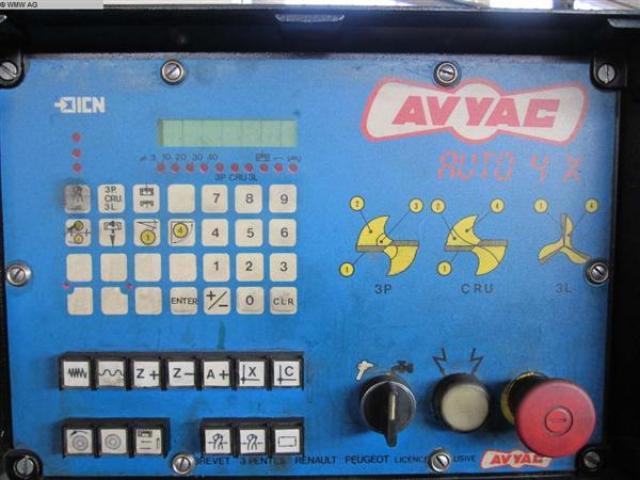 AVYAC Bohrerschleifmaschine AUTO4X - 4