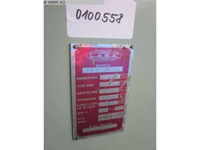 L.A.S.A. Richtmaschine RH 16-200 - 6