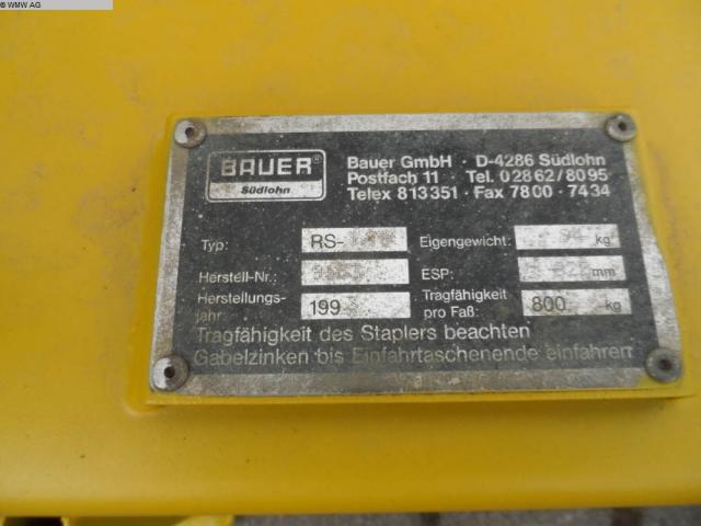 BAUER Elevator RS 786 - 6
