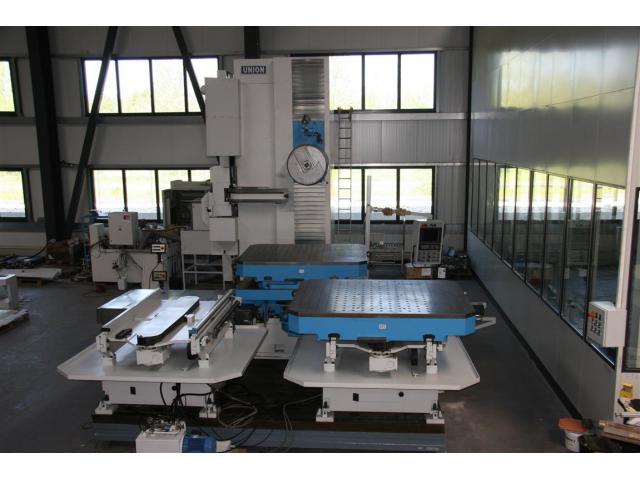 UNION CHEMNITZ Tischbohrwerk KCUX 130 CNC 840 D - 1