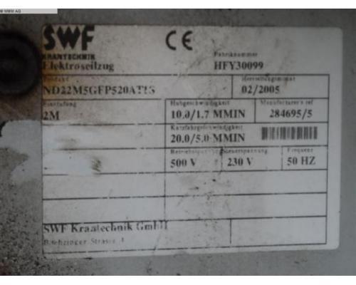 SWF KRANTECHNIK Krananlage ND22M5GFP520AT1S - Bild 5