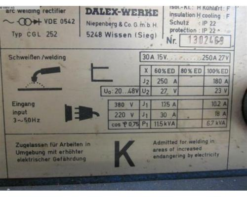DALEX Schweißanlage CGL 252 - Bild 2