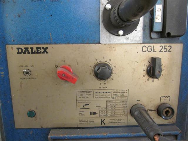 DALEX Schweißanlage CGL 252 - 3