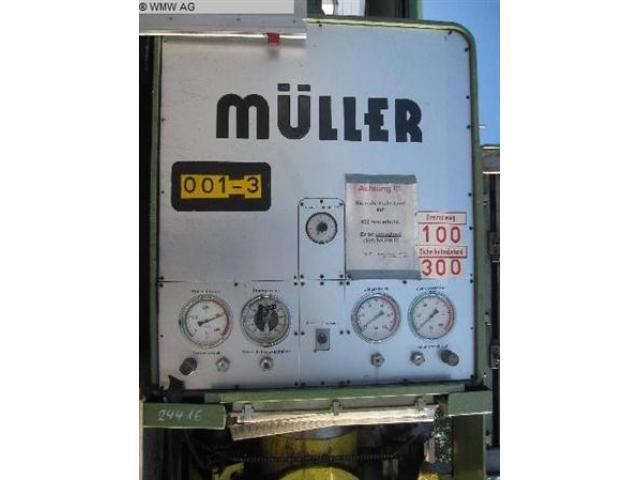 MÜLLER Einständerpresse - Hydraulisch CAZ 200 - 1