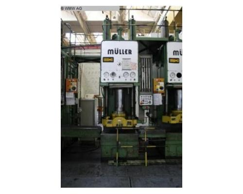 MÜLLER Einständerpresse - Hydraulisch CAZ 200 - Bild 2