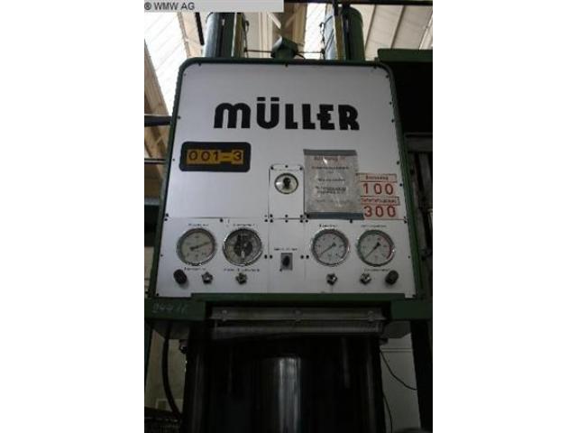 MÜLLER Einständerpresse - Hydraulisch CAZ 200 - 3