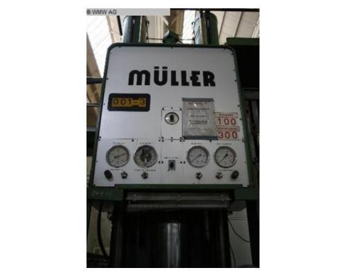 MÜLLER Einständerpresse - Hydraulisch CAZ 200 - Bild 3