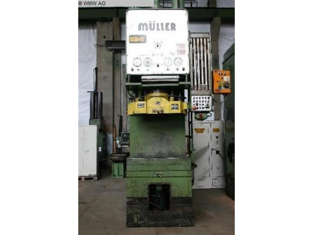 MÜLLER Einständerziehpresse - Hydraulisch CAZ 250.3.1 - 1
