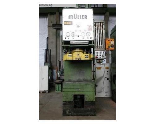 MÜLLER Einständerziehpresse - Hydraulisch CAZ 250.3.1 - Bild 1