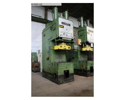 MÜLLER Einständerziehpresse - Hydraulisch CAZ 250.3.1 - Bild 2