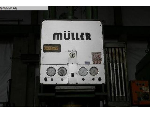 MÜLLER Einständerziehpresse - Hydraulisch CAZ 250.3.1 - 3