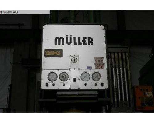 MÜLLER Einständerziehpresse - Hydraulisch CAZ 250.3.1 - Bild 3