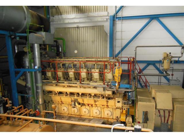 BHKW MARBACH Generator Kraftwerk - 1