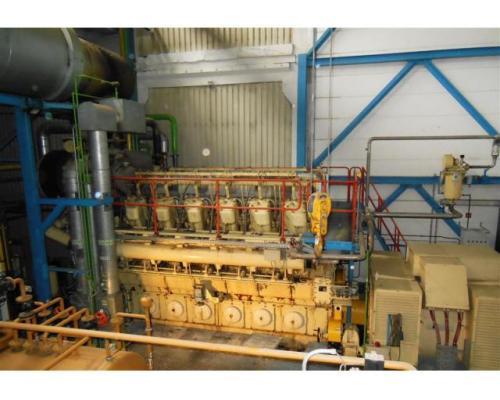 BHKW MARBACH Generator Kraftwerk - Bild 1