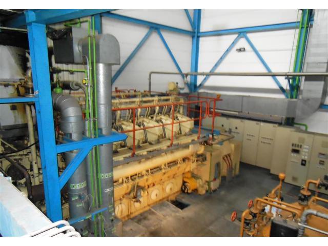 BHKW MARBACH Generator Kraftwerk - 2
