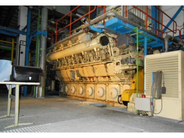 BHKW MARBACH Generator Kraftwerk - 3