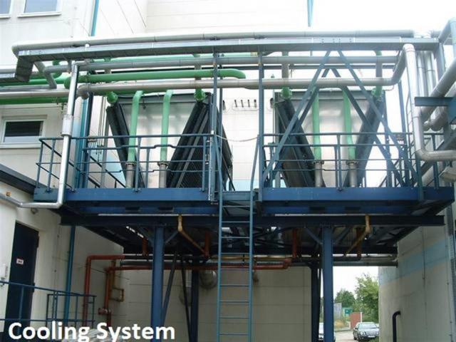 BHKW MARBACH Generator Kraftwerk - 4