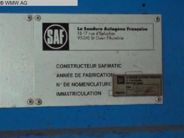 SAF CNC Plasma-Schneidanlage HP 120 nertajet - 5