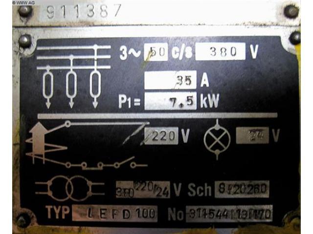 SMERAL Doppelständerexzenterpresse LEPD 100 - 6