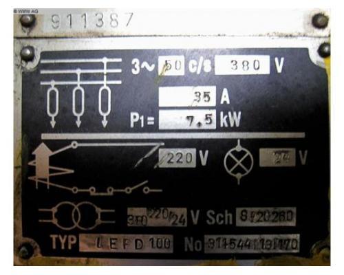 SMERAL Doppelständerexzenterpresse LEPD 100 - Bild 6