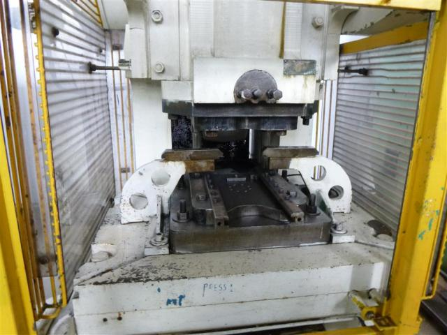 RHODES WAKEFIELD LTD. Doppelständerexzenterpresse RF 100 - 4